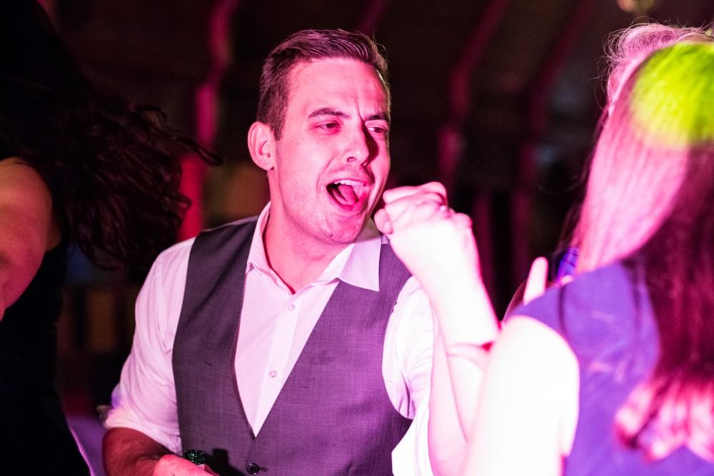 Dancing at Ettington Park Hotel